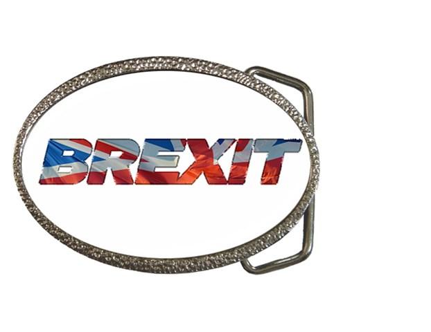 Brexit BELT BUCKLE - GREAT GIFT ITEM