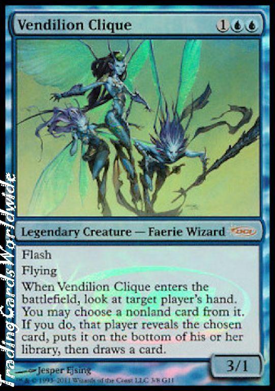Vendilion Clique    Foil      NM    JR  Promos    engl.    Magic the Gathering e95ce0