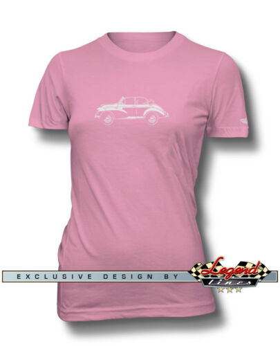 Austin Morris Minor Tourer Convertible T-Shirt for Women Colors /& Sizes Multi