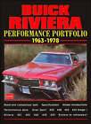 Buick Riviera Performance Portfolio 1963-78: A Collection of Articles Including Road Tests, Driving Impressions and Model Introductions by Brooklands Books Ltd (Paperback, 2000)