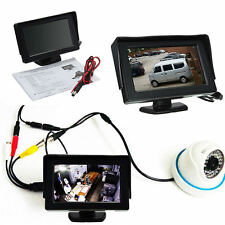 """HD 4.3"""" LCD Audio Video Security Tester CCTV Camera Test Monitor With Cable"""
