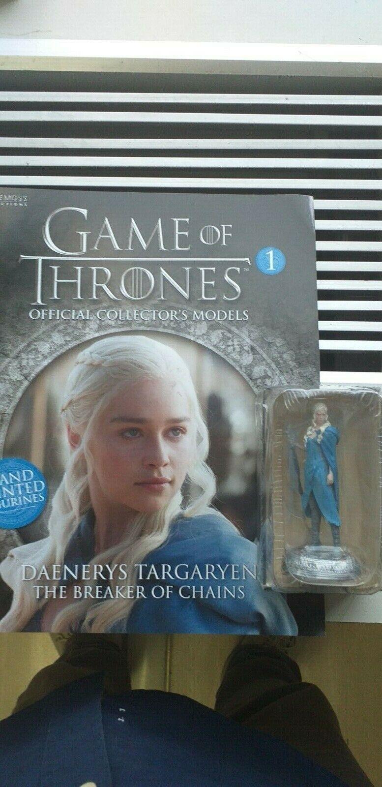 Game Of Thrones Eaglemoss Figurine  1  2  3  4  5  6 Figure