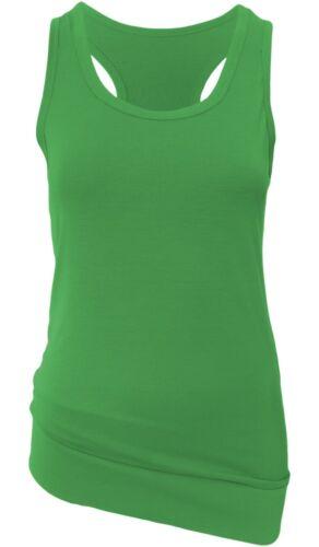 Damen Tops in schwarz oder 9 andere Farben Tank Top Träger Tops Shirts 2er Set