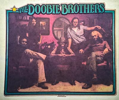 RARE ONLY1! Doobie Brothers classic rock band Music NOS vTg Orig t-shirt iron-on