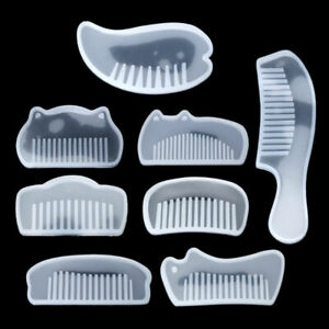 Comb Mold Jewelry Resin Casting Silicone Mold DIY Supplies Fun