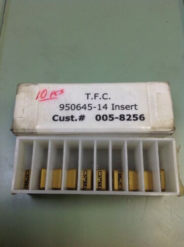 Details about  /T.F.C 950645-14 Inserts