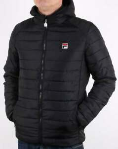 wide range good look out for Fila Pavo Puffa Jacket in Black - puffer jacket, bubble, padded ...