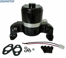 Small Block Chevy Electric Water Pump 283 327 400 Sbc High Volume Flow Black