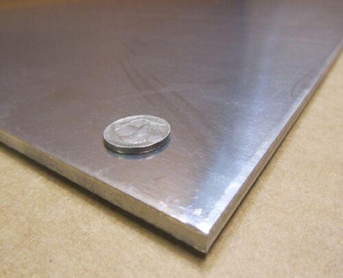 """5086 Aluminum Sheet 1//4 Hard .190/"""" Thick x 24/"""" Width x 24/"""" Length H32"""