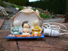 Vintage?Care Bear Shell House Lamp in Need of TLC