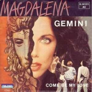 """GEMINI Magdalena 7"""" single vinile disco 45943"""