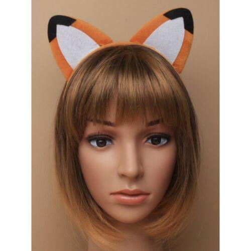 Fox Orecchie e Coda Set Fascia Costume Accessorio Taglia Unica per Tutti