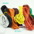 1M/3.3ft 22AWG Flexible Soft Silicone Wire Tin Copper RC Electronic Cable 8Color