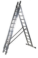 Aluminium Trade EN131 Triple Section Aluminium Combination/Extension Ladders
