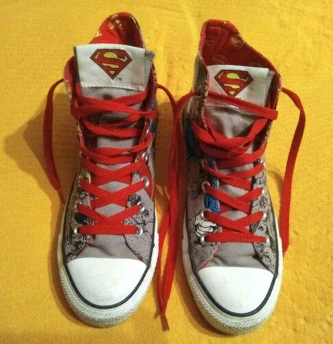 Eu37 Hi Unisex 5 Uk Converse 5 Allstar Superman tops q4ZTa0U
