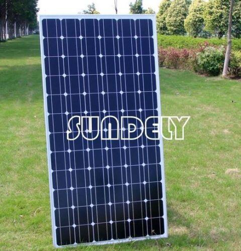 150W Watt 12V Monocrystalline Solar Panel module RV motorhome 10A controller NEW