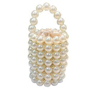 Ins-Perlen-Perlen-Tasche-fuer-Frauen-Mode-Hand-Gefertigten-Perlen-Hand-Tasch-I4D2