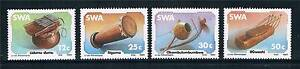 South West Africa 1985 Musical Instruments SG451/4 MNH