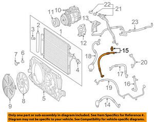Details about Mercedes MERCEDES-BENZ OEM 10-15 Sprinter 2500-A/C AC Hose  Line Pipe 9068300815