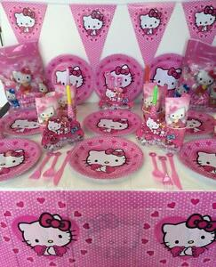 Hello Kitty Party Supplies Girl Birthday Decoration Perfect For 10