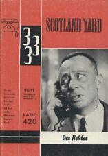 Scottland Yard 333 Nr. 420 ***Zustand 2+***