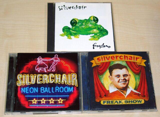 3 CD SAMMLUNG - SILVERCHAIR - FROGSTOMP - NEON BALLROOM - FREAK SHOW