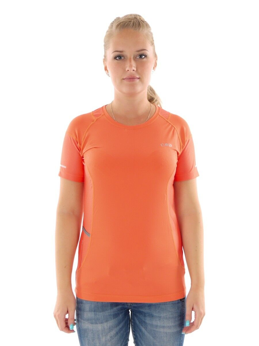 CMP laufshirt funktionsshirt sportshirt orange  stretch dryfunction  check out the cheapest