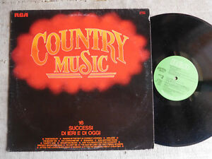 Country-Music-Hank-Snow-Don-Gibson-Lorne-Green-Chet-Atkins-Alabama-LP