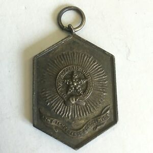 Antique-White-Metal-Silver-Colour-Military-Army-Temperance-Association-Medal