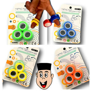 SUPER-Strong-Magnetic-Magic-Floating-Ring-Circle-Finger-Rings-Magician-Tool-Time