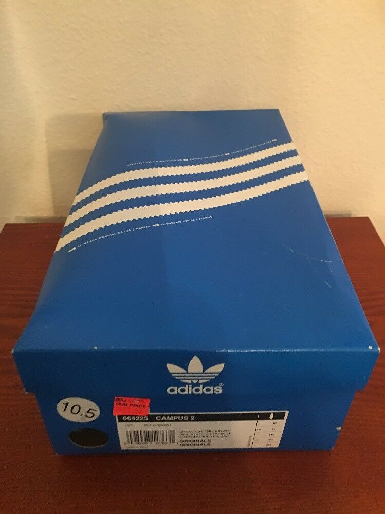 addidas campus 2 new in box size 10.5