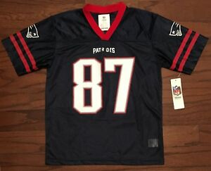 1306d2ede Image is loading Rob-Gronkowski-New-England-Patriots-NFL-Replica-Jersey-