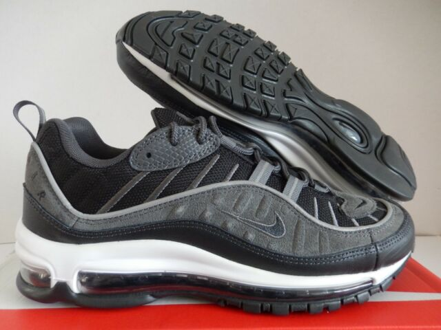 watch 6ffbb 02da7 NIKE AIR MAX 98 SE BLACK-ANTHRACITE-DARK GREY SZ 15  AO9380-
