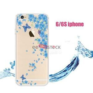 coque iphone 6 silicone motif fleur