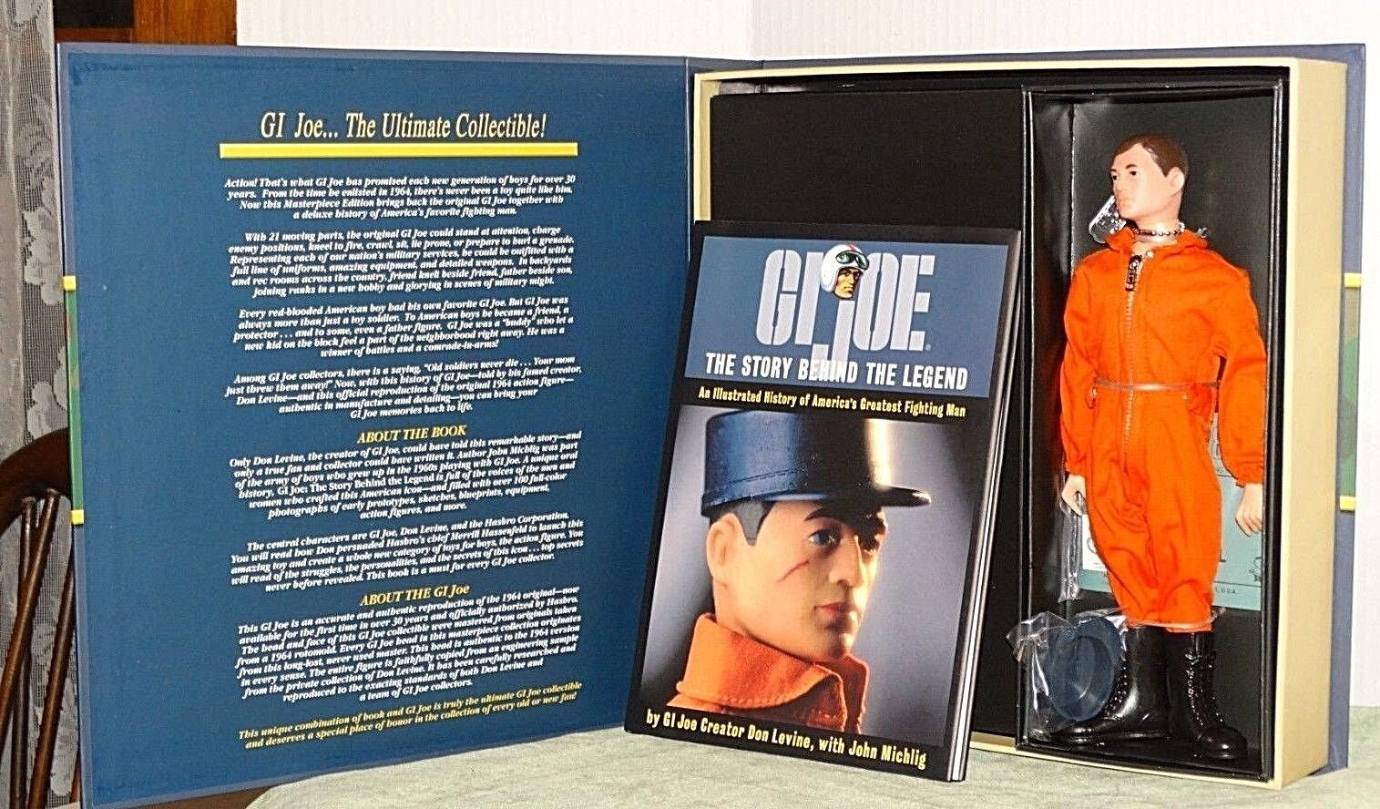 GI Joe Action Pilot Masterpiece Edition NRFB
