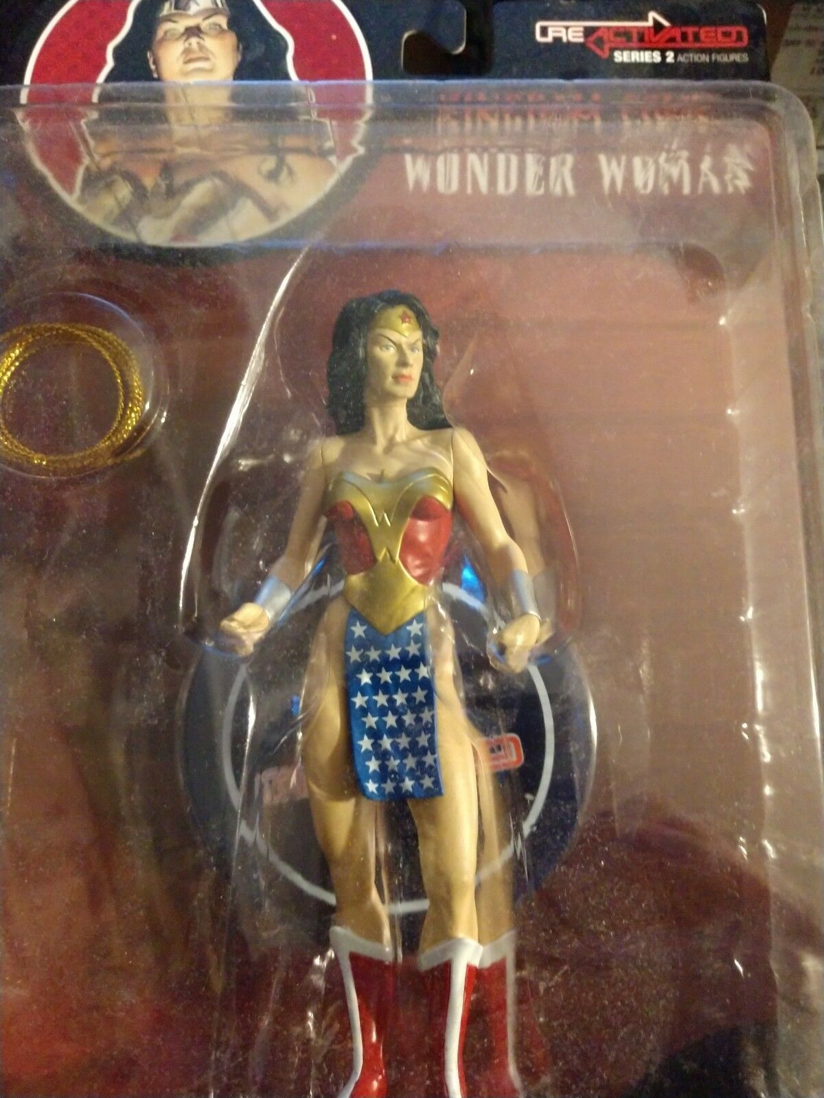 DC Direct Kingdom Come Ross Wonder Woman Re Activated Activated Activated NEW 973d02