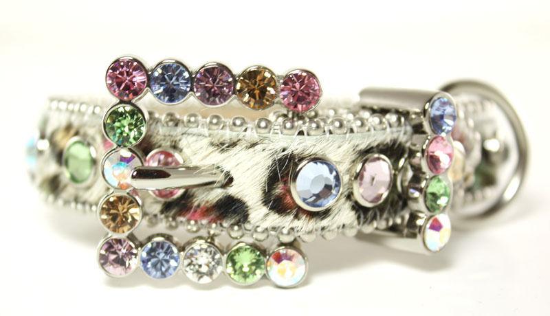 BB Simon Swarovski Crystals Dog Collar Small