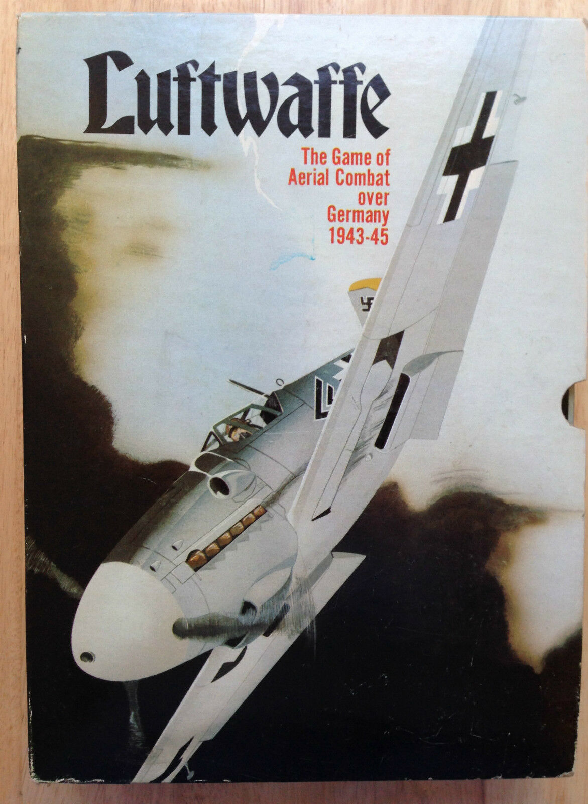 LUFTWAFFE WWII GERMANY B-17 AERIAL COMBAT GAME by AVALON HILL, 1971, COMPLETE