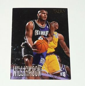 CORLISS WILLIAMSON SACRAMENTO KINGS 1996-1997 NBA BASKETBALL FLEER CARD