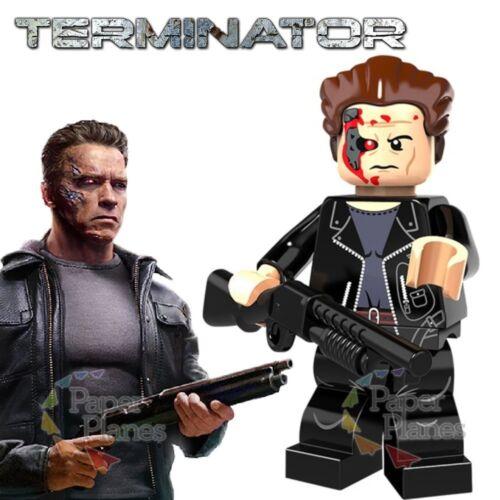 Terminator Maßgeschneidert Minifigur Passt Lego Toy P376