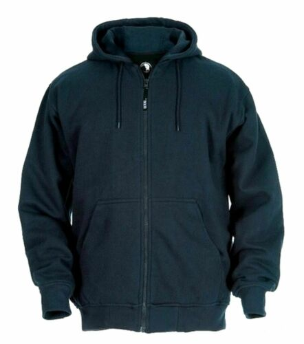 BERNE Mens Thermal Lined Zip Front Hoodie Big /& Tall Sizes 290617RM