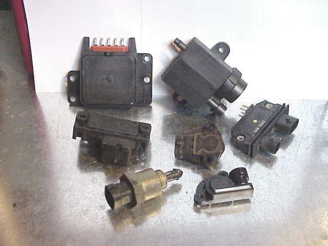 6pc Sensor Set 4 3 Tbi  U0026quot Z U0026quot  1988