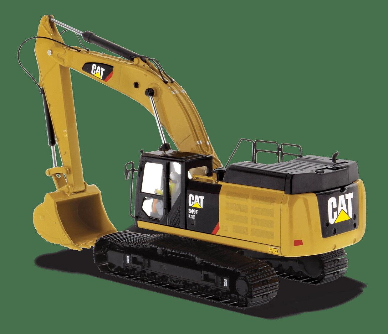 1 50 DM Caterpillar Cat 349F L XE Hydraulic Excavator Diecast Models