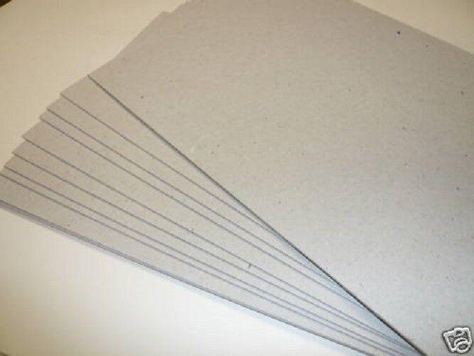 A3 Gris  board Carte Artisanat Support Board 1000Mic/1.0 mm-  Gris Grade B 188d85