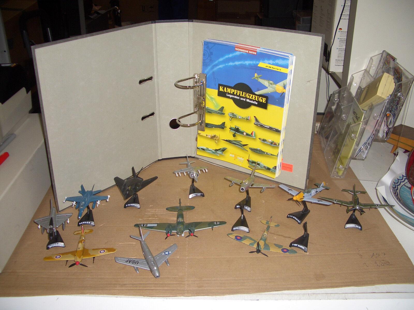 Delprado Kampfflugzeuge Legenden und Modelle 11 Flugzeuge    Treten Sie ein in die Welt der Spielzeuge und finden Sie eine Quelle des Glücks
