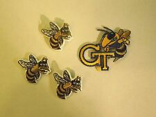 Lot of 4 Georgia Tech Yellow Jackets School Mascots Iron On Patches #3