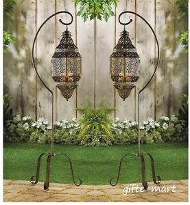 10 Hanging Moroccan Lantern Candle Holder Wedding