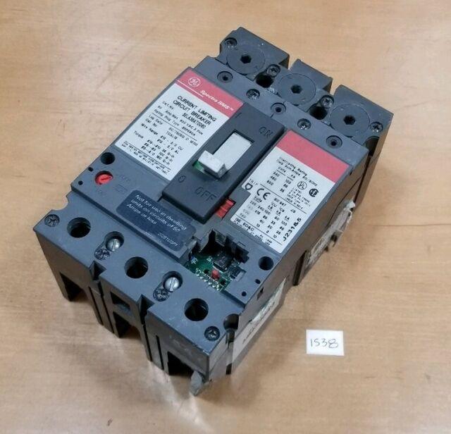 SELA36AT0060 General Electric Circuit Breaker Spectra Series SELA 60 Amp 600 V