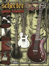 Schecter Guitar Research Solo-6 Hellraiser Guitar Series ad 8 x 11 advertisement
