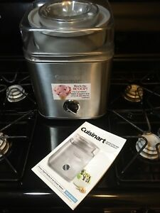 Cuisinart-ICE-30BC-Pure-Indg-2-Qt-Automatic-Frozen-Yogurt-Sorbet-Ice-Cream-Maker